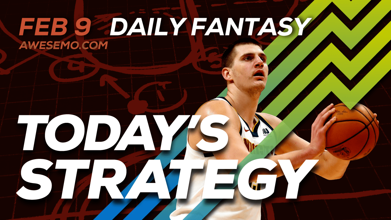 FREE Awesemo YouTube NBA DFS picks & content for daily fantasy lineups on DraftKings + FanDuel including Nikola Jokic and more!