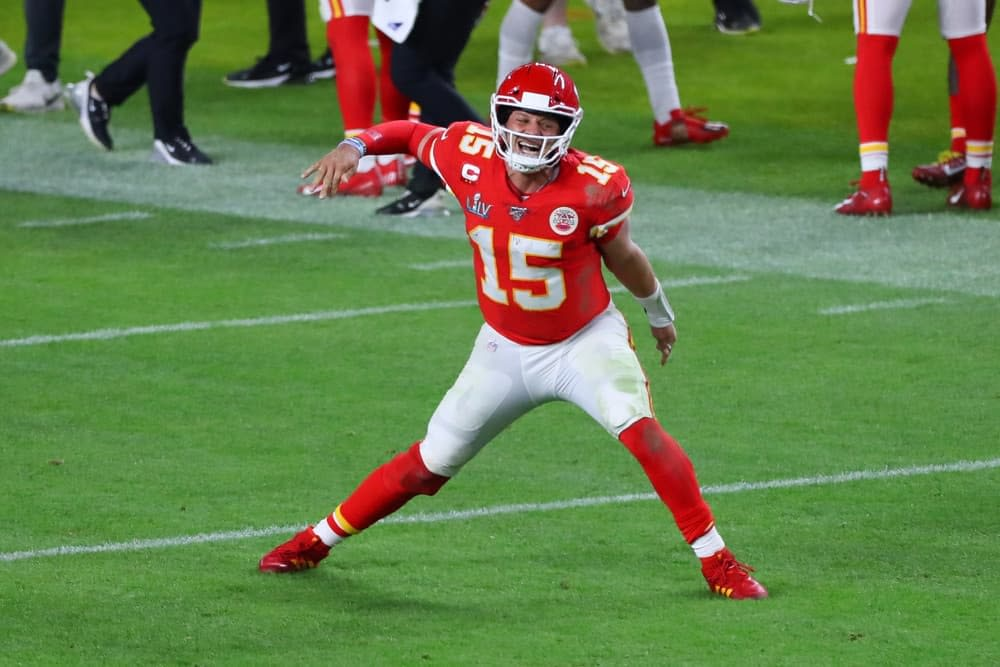 Expert Week 7 NFL DFS DraftKings Tiers picks using Awesemo's NEW Tiers Projection Tool to make optimal lineups | Patrick Mahomes