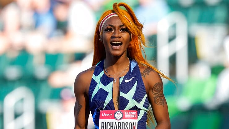 United States sprinter Sha'Carri Richardson had a powerful interview regarding the controversial decision that she couldn't run at Tokyo Olympics
