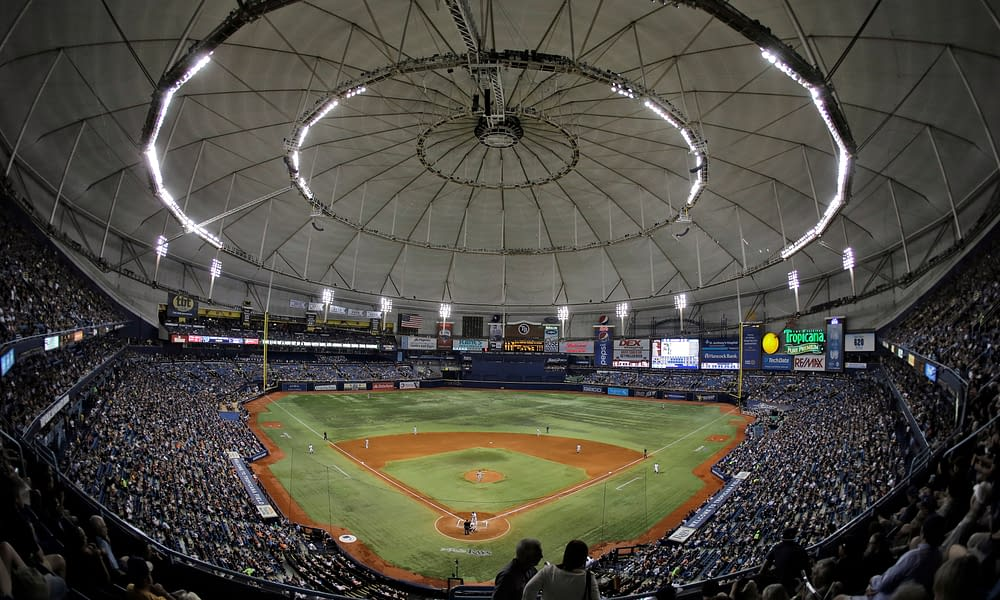 """The Tampa Bay Rays set an embarrassing attendance record on Monday night, which has led to the question, """"what the hell are they still doing there?"""""""