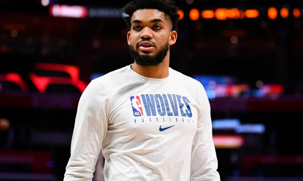 NBA DraftKings Lineup PIcks daily fantasy basketball dfs cheat sheet tonight Thursday May 13 with Karl-Anthony Towns