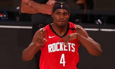 Danuel House Jr.'s status for the rest of the Lakers - Rockets Playoffs series is in question due to a bubble rule violation.