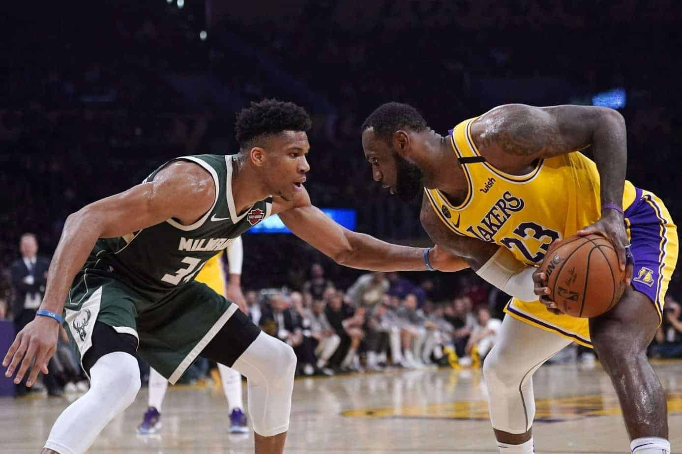 An old quote from LeBron James where he backs up the notion that Giannis Antetokounmpo 'can't score' is coming back to haunt him now