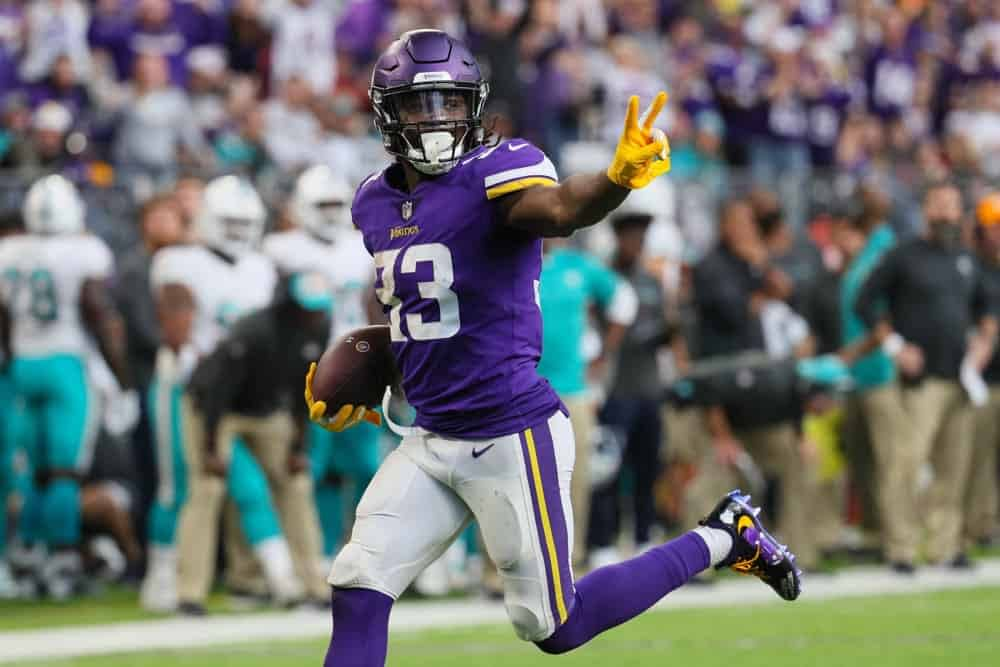 Week 11 DraftKings NFL DFS Picks daily fantasy football NFL DFS ownership Dalvin Cook