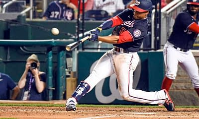 The best free expert MLB bets today with Las Vegas betting odds and picks like the Washington Nationals (+176) winning on Thursday, 9/23/21.