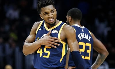 NBA FanDuel Lineup Picks DFS and Daily Fantasy Basketball expert projections and simulations from Josh Engleman with Donovan Mitchell