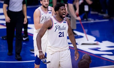DraftKings & FanDUel NBA Daily Fantasy picks and strategy for Thursday April 22 featuring Joel Embiid