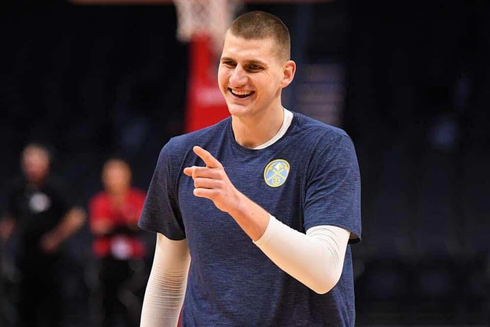 NBA DraftKings Lineup picks daily fantasy basketball DFS cheat sheet for Friday May 14 with Nikola Jokic
