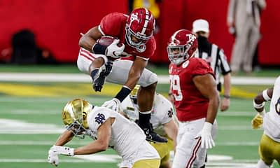 2021 NFL Fantasy Football Top 5 Rookie RB Rankings fantasy draft best running backs based on Dave Loughran's expert rankings for CBS, Yahoo, ESPN, Best Ball and Dynasty leagues this year
