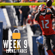 Chris Randone's likes and dislikes for Week 9 NFL DFS Picks on DraftKings and FanDuel includes thoughts on Nick Chubb and Chris Godwin.
