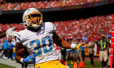 NFL player prop bets betting picks odds lines predictions parlays Week 6 Austin Ekeler Chargers best bets over/under