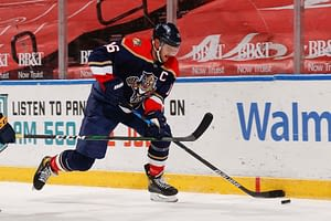 Awesemo's free FanDuel NHL DFS Picks cheat sheet for fantasy hockey lineups based on expert projections featuring Aleksander Barkov 4/19/21.