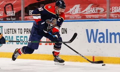 Free NHL FanDuel picks cheat sheet with the best daily fantasy hockey plays and optimal NHL DFS lineups using Awesemo's lineup optimizer ALeksander Barkov