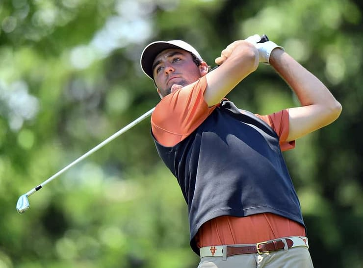 PGA DFS picks for DraftKings and FanDuel lineups for the American Express featuring data analysis and data on players like Scottie Scheffler