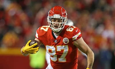 NFL DFS Picks: EMac and Kyle Dvorchak dive into the Monday Night Football Chiefs vs. Ravens Showdown DraftKings + FanDuel | Travis Kelce