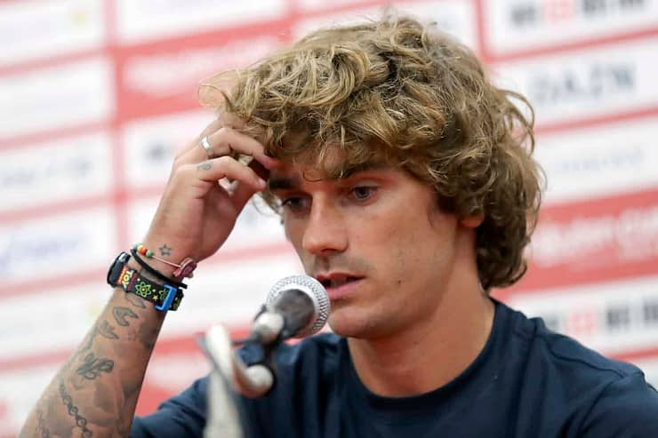 Barcelona star Antoine Griezmann was removed as a spokesperson for Yu-Gi-Oh! after a video shows him and Ousmane Dembele seemingly mocking Asians
