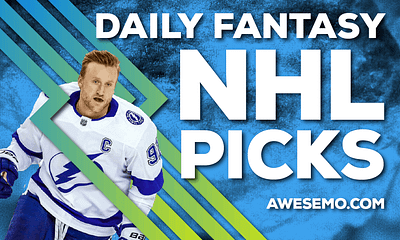 Awesemo's NHL DFS Strategy show breaks down the top DraftKings & FanDuel NHL picks for today's slate, including Steven Stamkos and more!