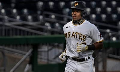 MLB DFS Picks. FREE FanDuel Daily Fantasy Baseball lineup advice based on Alex Baker's expert projections for 7/30 with Ke'Bryan Hayes.
