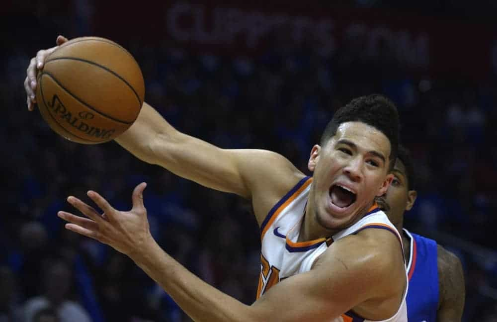 DraftKings & FanDuel NBA Daily Fantasy Picks, Strategy, Advice and projections from the Slate Starter Podcast with Devin Booker