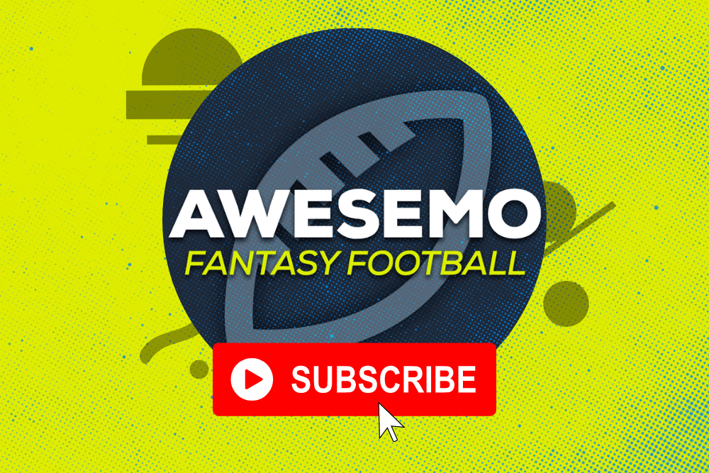 Welcome to the new Awesemo Fantasy Football YouTube Channel! For all you mock draft, fantasy football rankings and player news needs