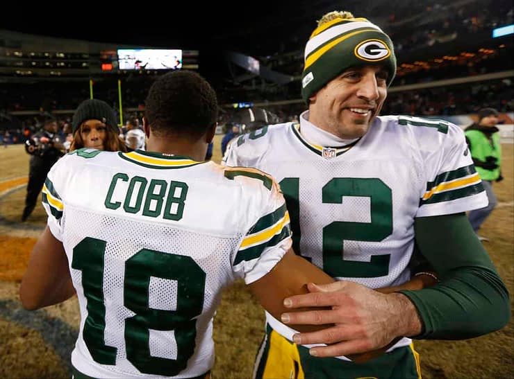 Green Bay Packers general manager Brian Gutekunst said that acquiring Randall Cobb was all about trying to keep Aaron Rodgers happy