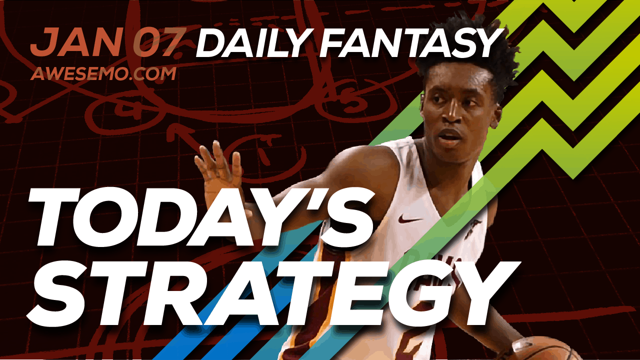 FREE Awesemo YouTube NBA DFS picks & content for daily fantasy lineups on DraftKings + FanDuel including Collin Sexton and more!