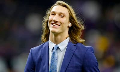 Fantasy Football Rankings Top 5 Rookie QBs to draft in 2021 based on Awesemo expert projections Trevor Lawrence Justin Fields