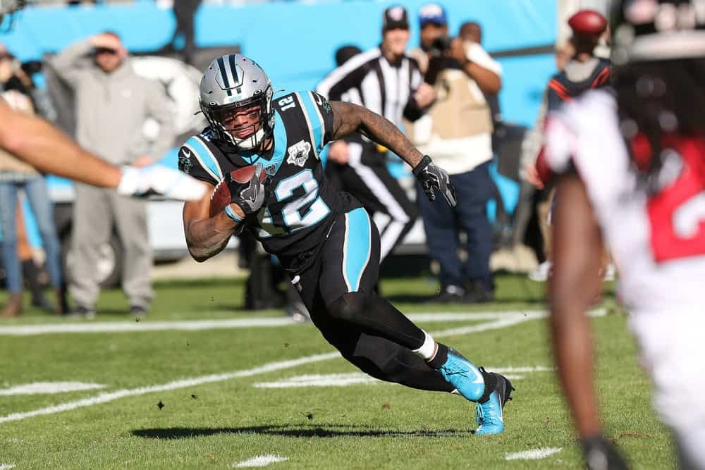 Week 4 Yahoo daily fantasy NFL rostership picks and pivots for Week 4 lineups with free projections for Josh Allen, Alvin Kamara & D.J. Moore