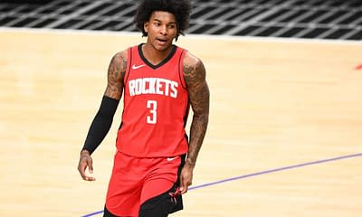 NBA FanDuel DFS daily fantasy basketball lineups. NBA Playoff cheat sheet 10/21/21. Awesemo's picks and projections with Kevin Porter Jr.