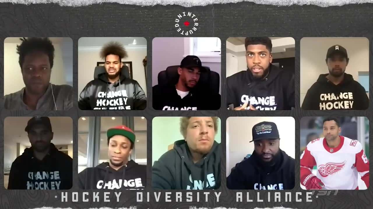Chris Stewart On Twitter We Are Proud To Announce The Formation Of The Hockey Diversity Alliance