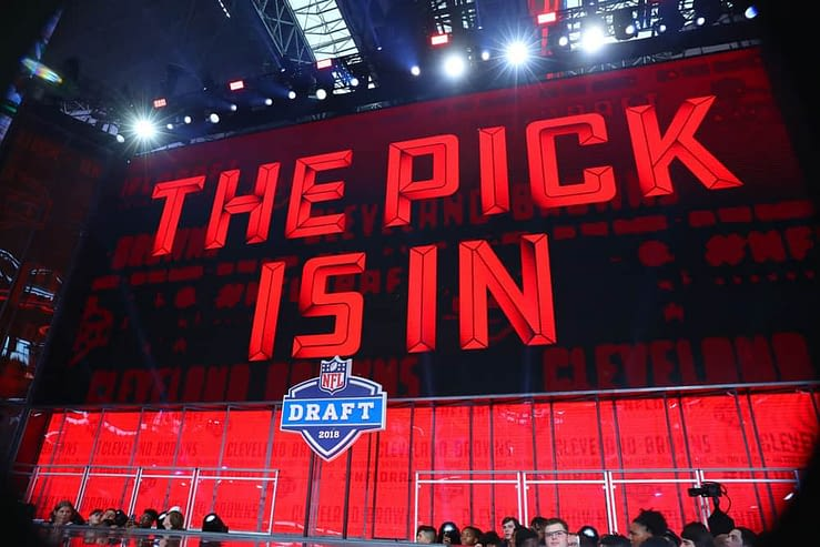 2021 NFL Draft Rookie Wide Receiver Top 10 Rankings for daily fantasy football and DFS purposes with Ja'Marr Chase No. 1 overall and Devonta Smith No. 2