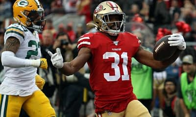 Niners RB Raheem Mostert is demanding a trade after the team did absolutely nothing to meet his contract demands.