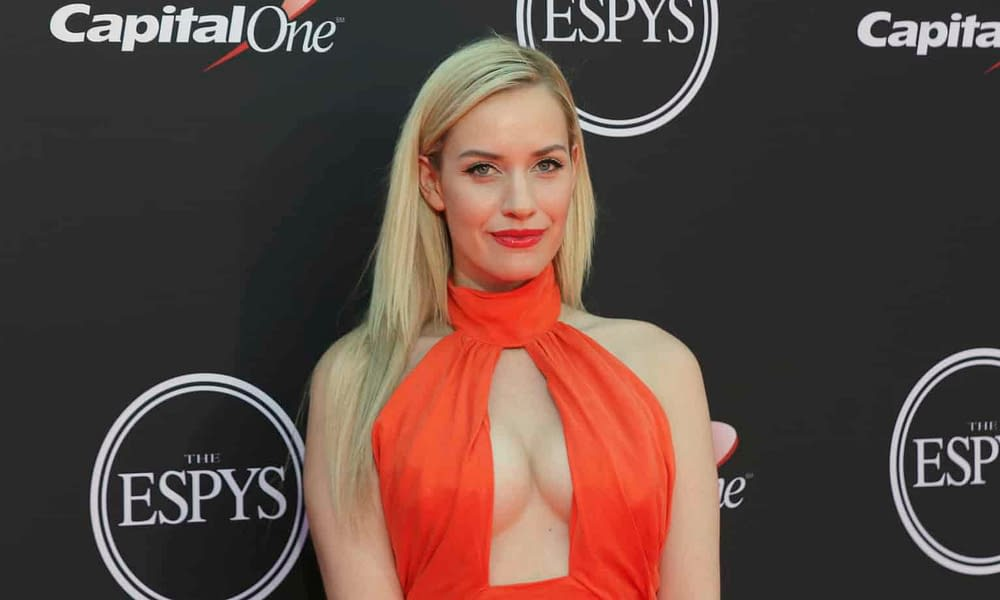 Instagram model and golf personality Paige Spiranac has a pretty good idea why she might have more social media followers than Tiger Woods