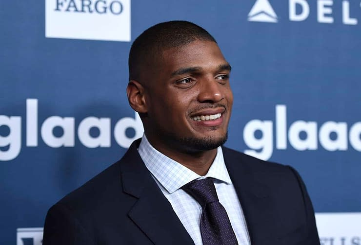 Michael Sam opens up on the Jon Gruden homophobic email leak which referenced him being drafted by the Rams back in the day