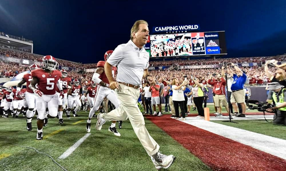 Nick Saban recently shared a revelation about his wife, Terry, and the one piece of coaching advice she always gives him after games