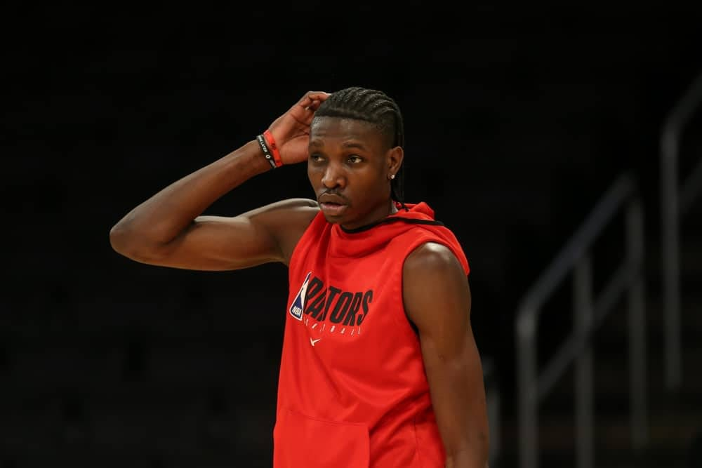 NBA Daily Fantasy picks for Draftkings and fanduel DFS lineups featuring Chris Boucher based on expert ownership and projections