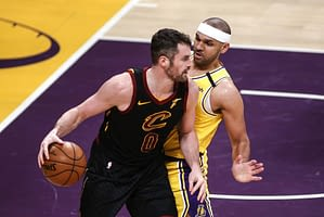 Ben Rasa gives his favorite NBA player prop betting pick of the day from Cavaliers vs. Pistons tonight | Kevin Love Over 13.5 Points 4/19