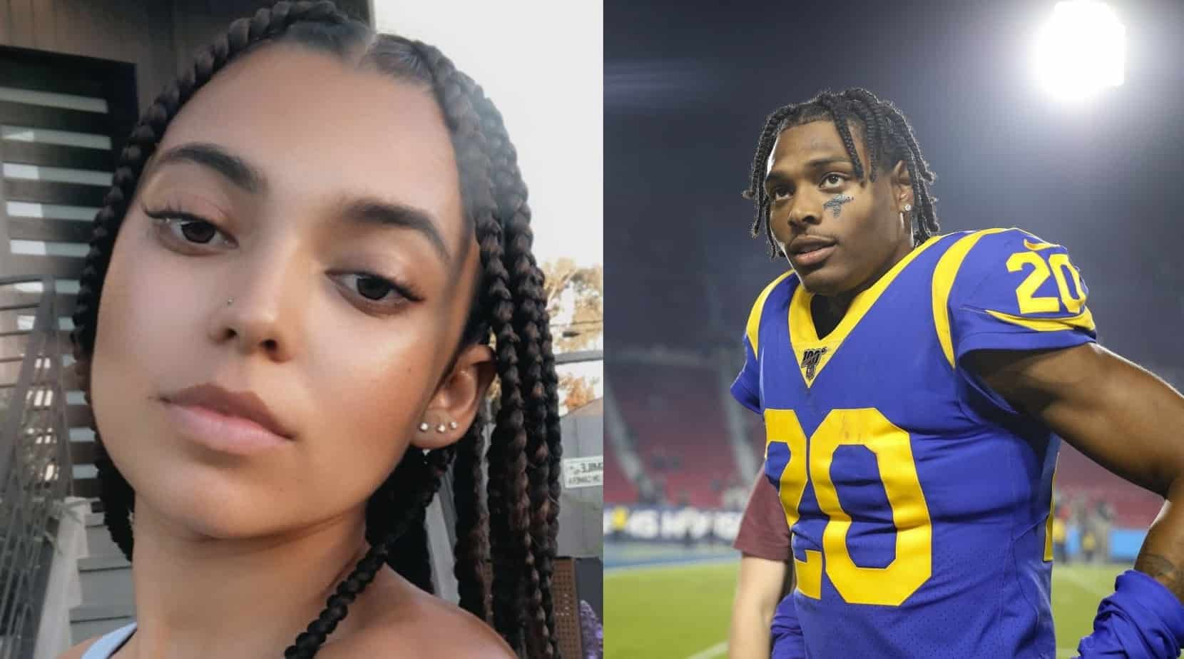 Jalen Ramsey Spends Halloween Night With New Girlfriend Before Getting Ill Awesemo Com