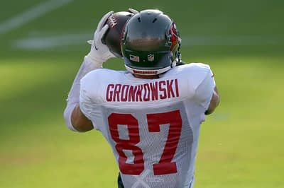 Three fantasy football busts at tight end for 2020, including Rob Gronkowski, Mark Andrews and Tyler Higbee for your NFL drafts