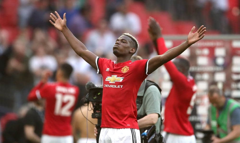 Tristan Hoh's EPL DFS column for Monday's Manchester United vs. Wolves showdown, with DraftKings picks and analysis, including Paul Pogba.