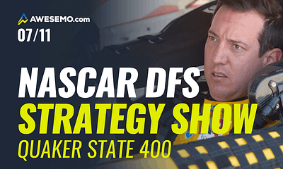 Alex Baker breaks down Sunday's Quaker State 400 DFS Slate with DraftKings and FanDuel NASCAR DFS Picks for daily fantasy lineups.
