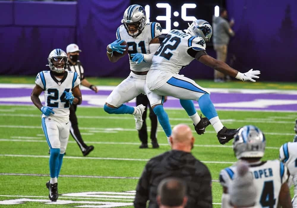 Week 3 Fantasy Football streaming defense rankings NFL DST Panthers Jeremy CHinn streamer options