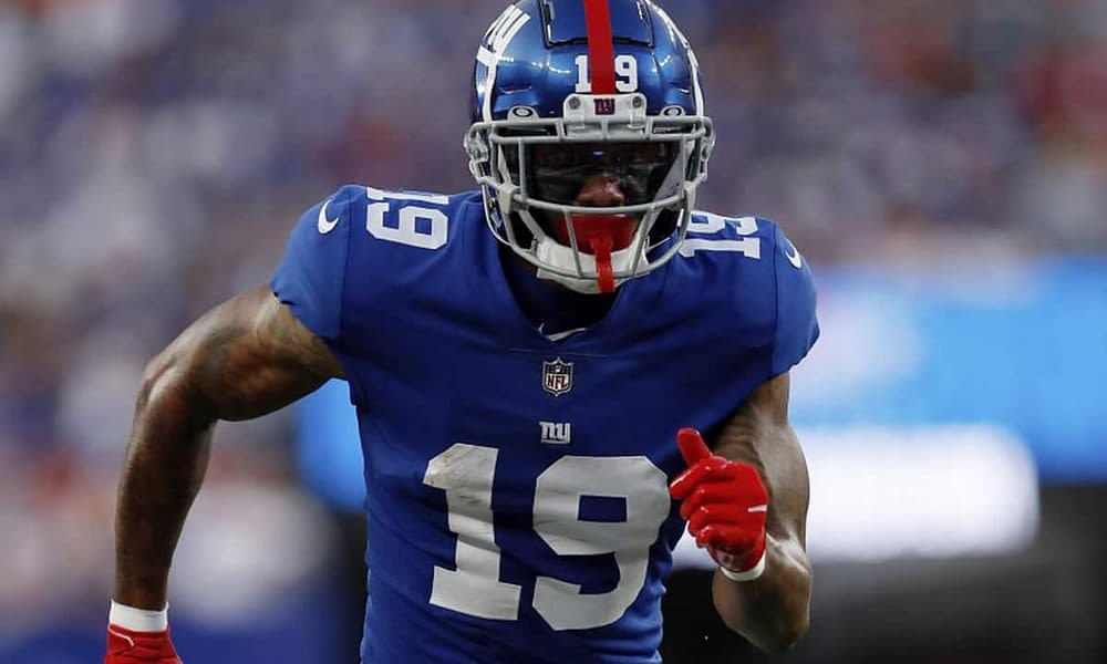 New York Giants offensive coordinator Jason Garrett finally responded to being yelled at on the sidelines by newly signed receiver Kenny Golladay