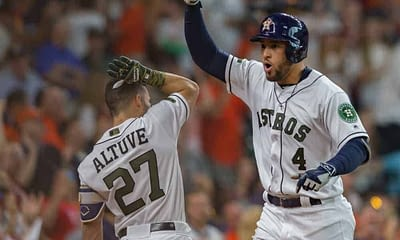 FanDuel MLB DFS cheatsheet for 9/4/20, picks like George Springer based on projections and ownership from the world's No. 1 DFS player.