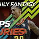 FREE Awesemo YouTube NBA DFS late-breaking news and inactives for daily fantasy lineups on DraftKings + FanDuel for Oct. 31, John Collins.