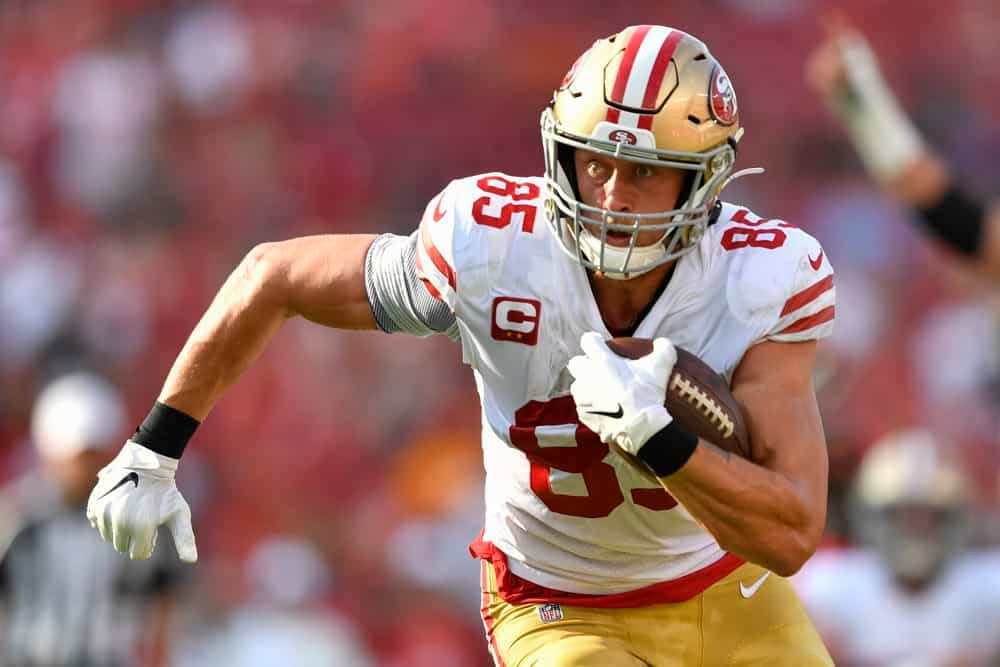Matt Savoca breaks down every single fantasy football matchup for Week 3 fantasy football and NFL DFS | 49ers vs Giants incl. George Kittle.