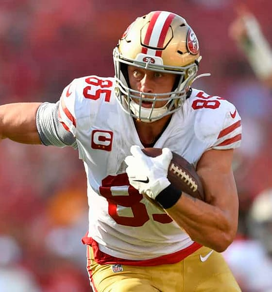 Yahoo Fantasy NFL Picks DFS $200K George Kittle and Carson Wentz