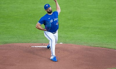 Blue Jay pitcher Robbie Ray was heavily trolled for throwing a dud against the Yankees on Thursday, and his pants were the butt of many of the jokes