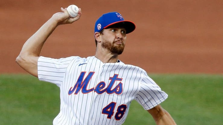 Jacob deGrom strikeouts New York Mets