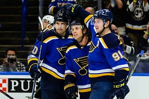 Daily Fantasy Hockey Picks for DraftKings and FanDuel with Top Stacks based on Awesemo's expert projections and tools with the St. Louis Blues